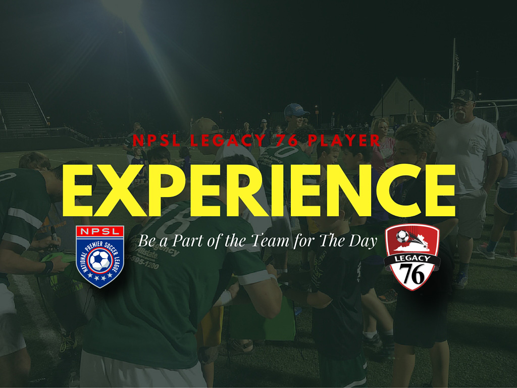 Legacy 76 NPSL Player Experience Camp