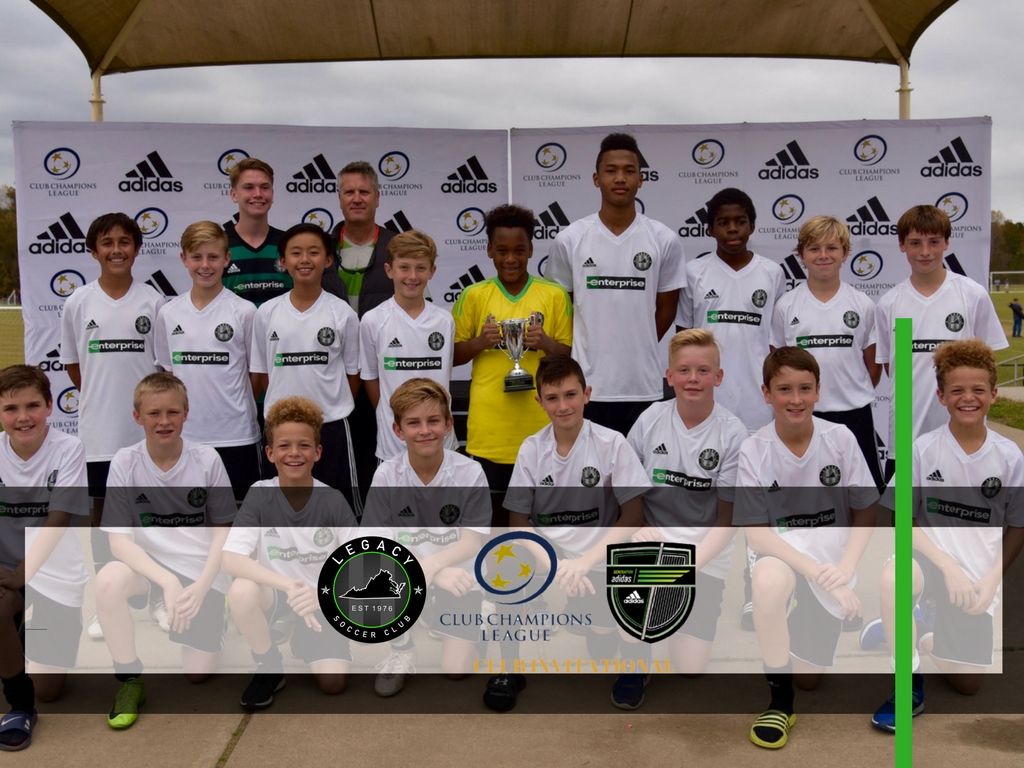 Legacy Wins Overall Boys Points at Generation Adidas Tournament