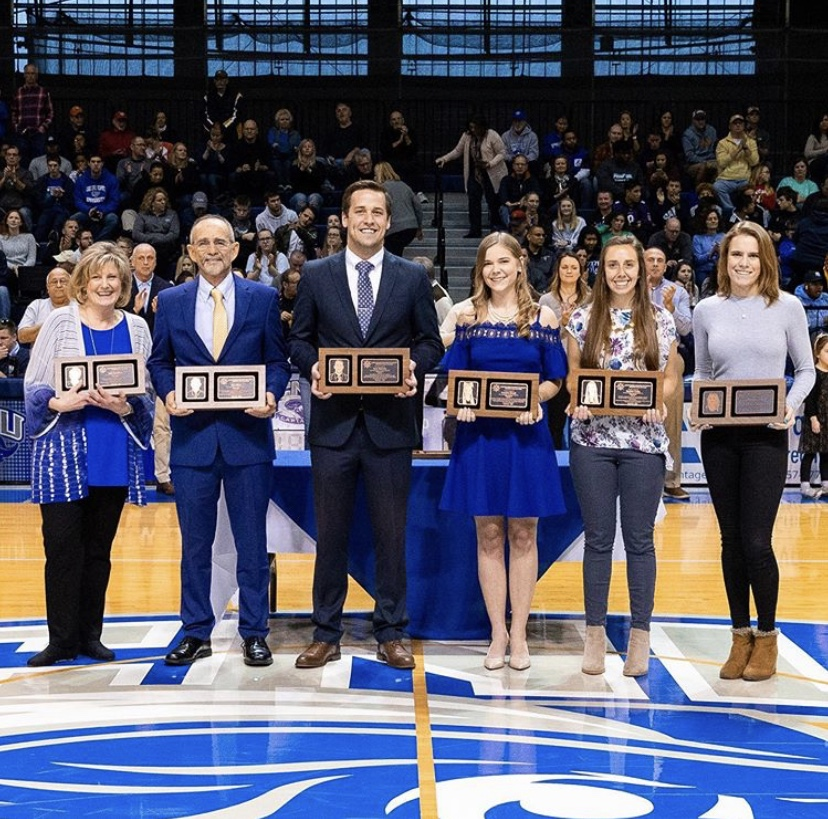 Steve Shaw and Sean Moriarty inducted into CNU Hall of Fame