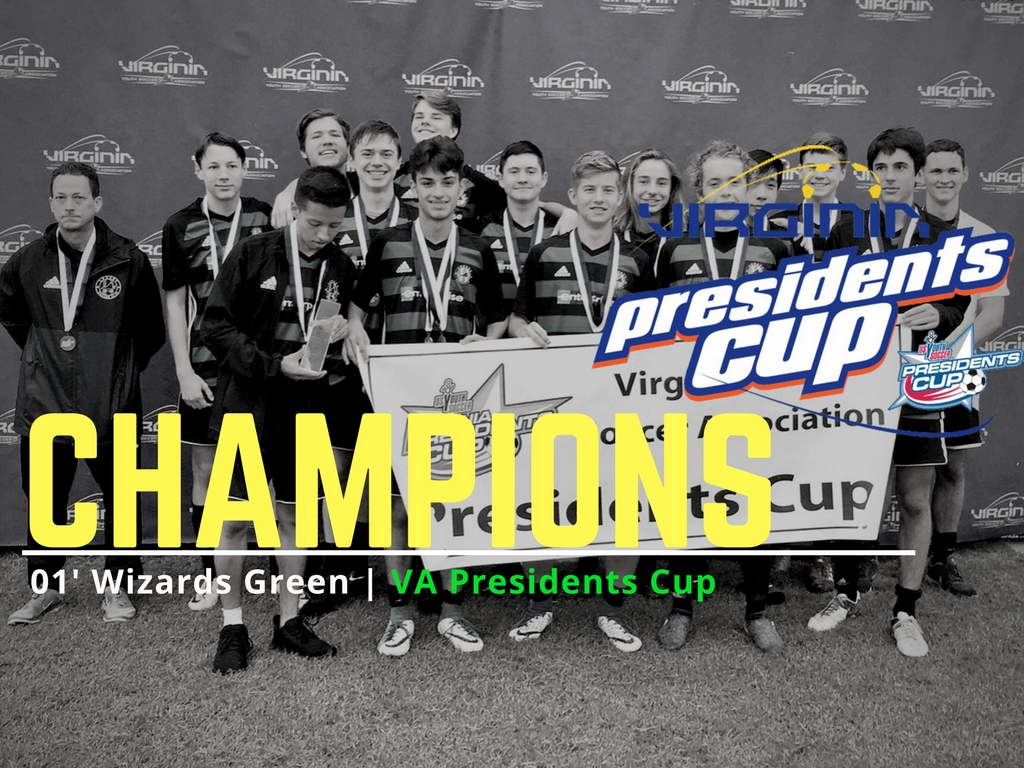 01' Wizards Green Take Presidents Cup