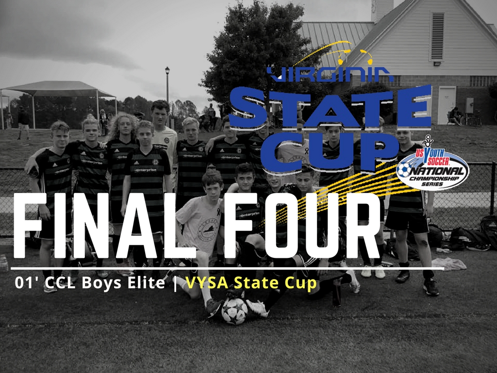 01' Boys Reach State Cup Final Four