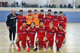 Caleb Lewis (2005 CCL Boys) represents USA Futsal in Barcelona!